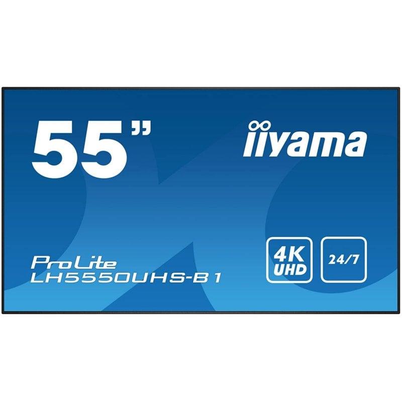 "Monitor iiyama ProLite LH5550UHS-B1 Pantalla de Señalización LED 55"" UltraHD 4K"
