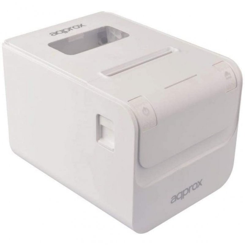 Approx APPPOS80AMUSEWH Impresora de Tickets USB/RJ45 Blanca
