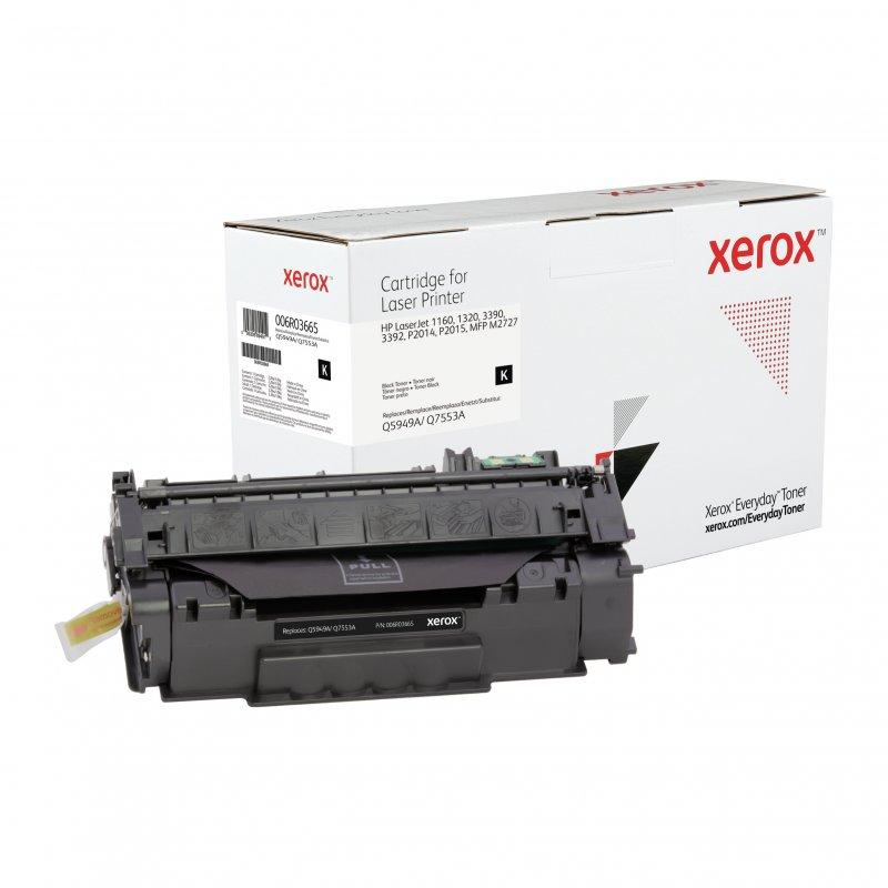 Xerox HP Q5949A/Q7553A Tóner Compatible Negro