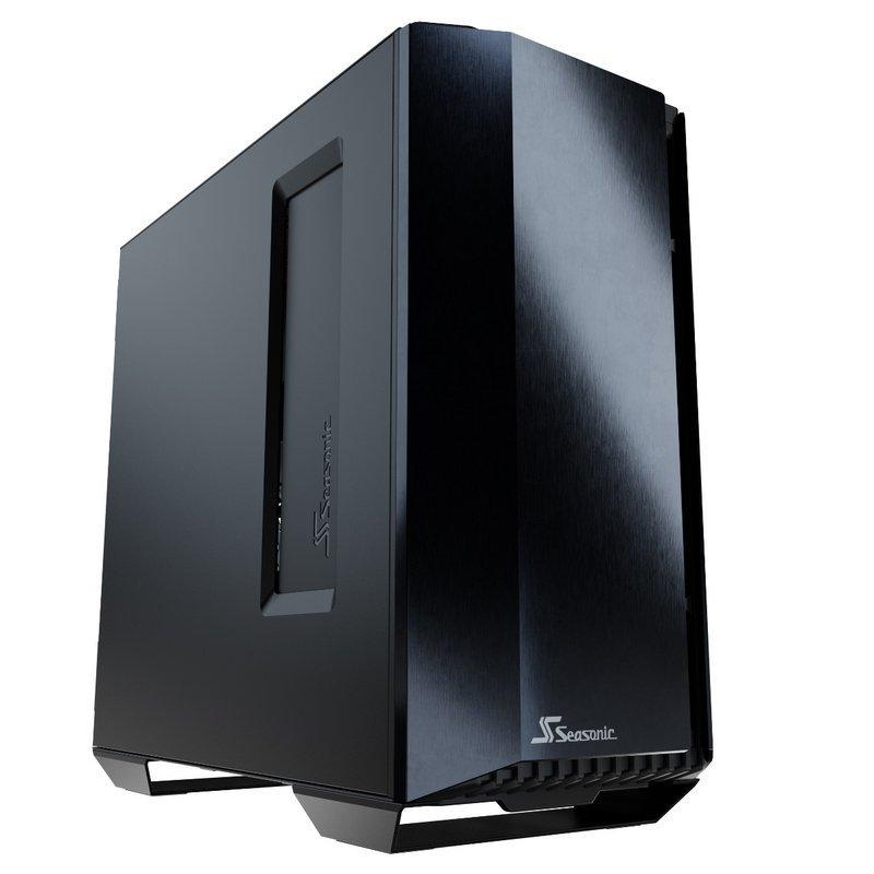 Seasonic Syncro Q704 Cristal Templado USB 3.0 Negra + Syncro DGC-750 750W 80 Plus Gold Modular