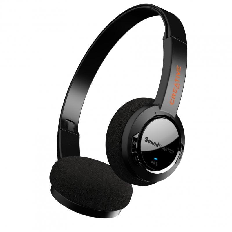 Creative Sound Blaster JAM V2 Auriculares Inalámbricos Bluetooth Negros