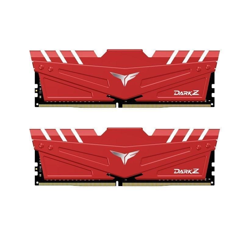 Team Group T-Force Dark Z DDR4 3200MHz PC4-25600 32 GB 2x16GB CL16 Rojo