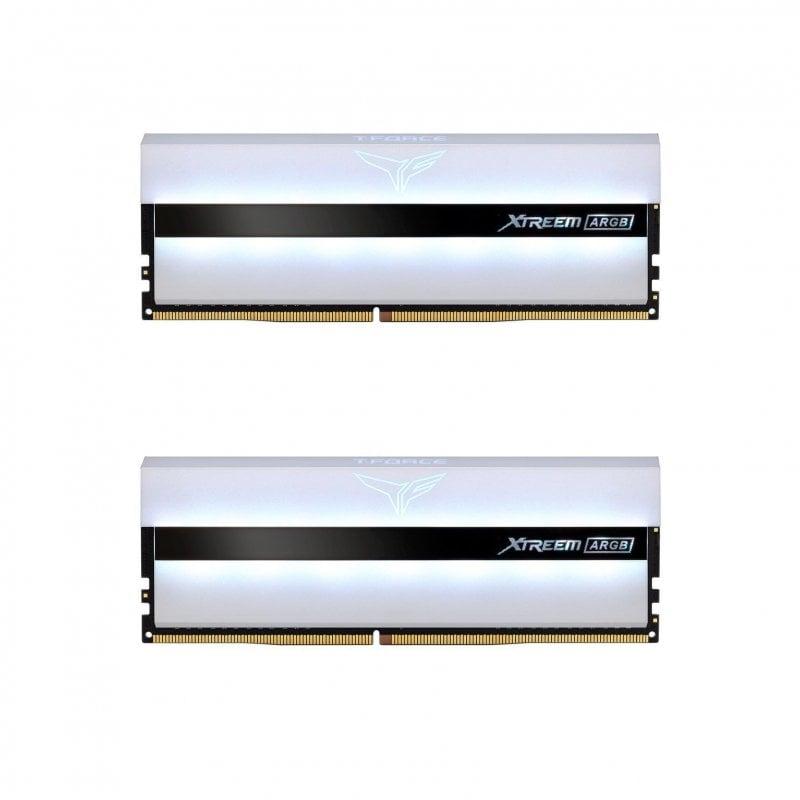 Team Group Xtreem ARGB DDR4 3600 PC4-28800 32GB 2x16GB CL18 Blanco