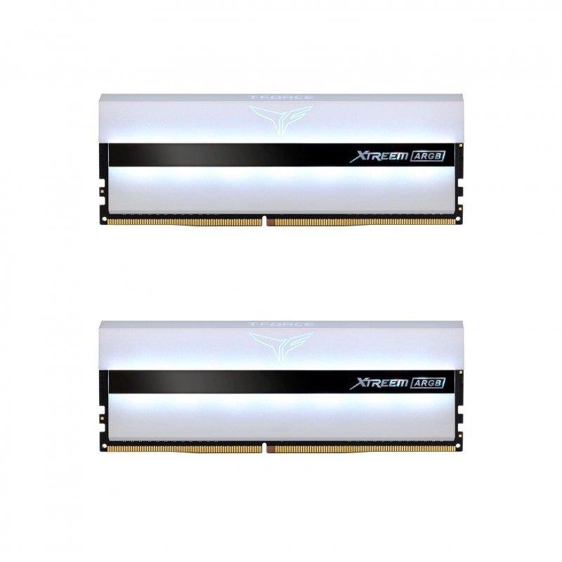 Team Group Xtreem ARGB DDR4 3600 PC4-28800 64GB 2x32GB CL18 Blanco