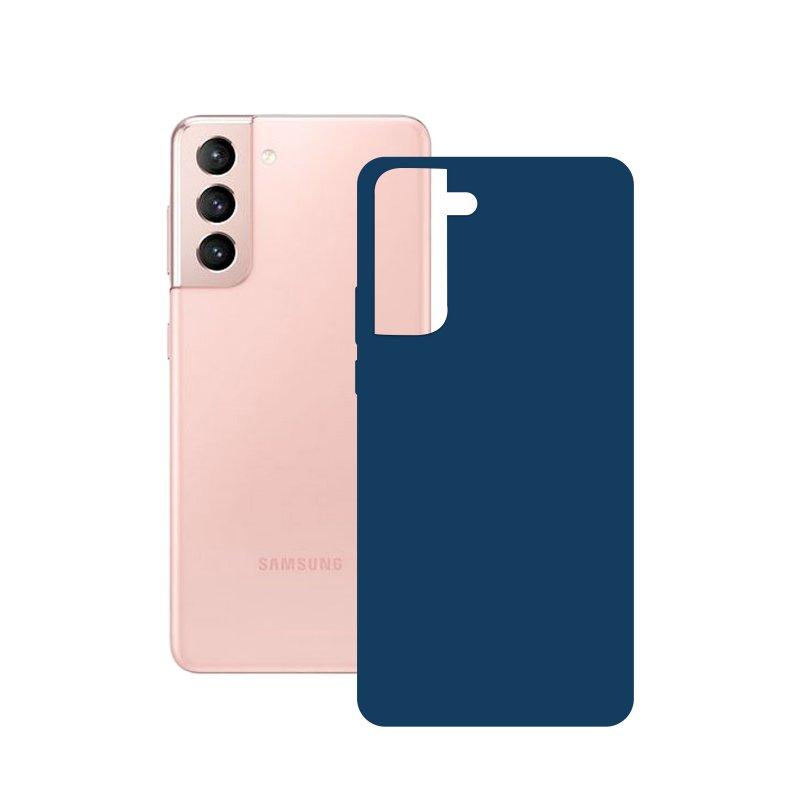 Mobile Tech Funda Silk Azul para Samsung Galaxy S21 5G