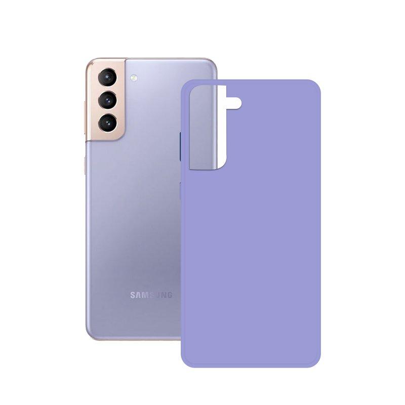 Mobile Tech Funda Silk Lavanda para Samsung Galaxy S21 Plus 5G
