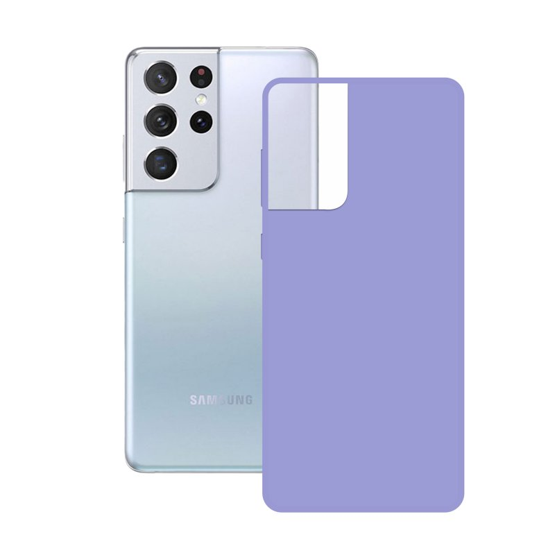 Mobile Tech Funda Silk Lavanda para Samsung Galaxy S21 Ultra 5G