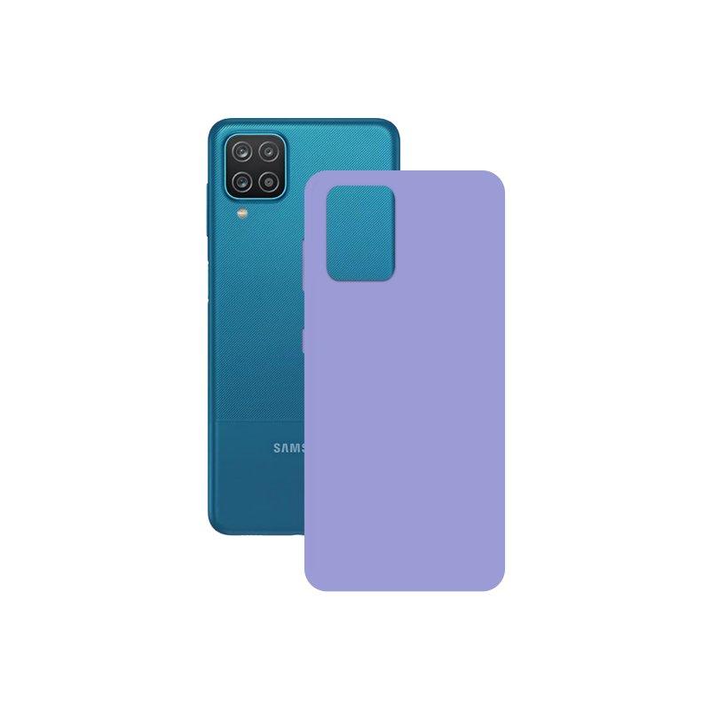 Mobile Tech Funda Silk Lavanda para Samsung Galaxy A12
