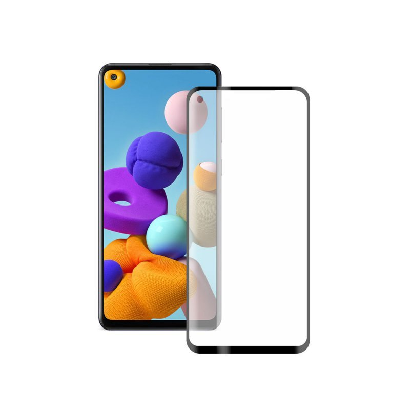 Ksix Cristal Templado 9H Extreme 2.5D para Samsung Galaxy S21 Plus 5G