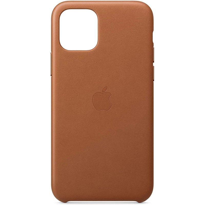 Apple Funda de Cuero Marrón Saddle para iPhone 11 Pro