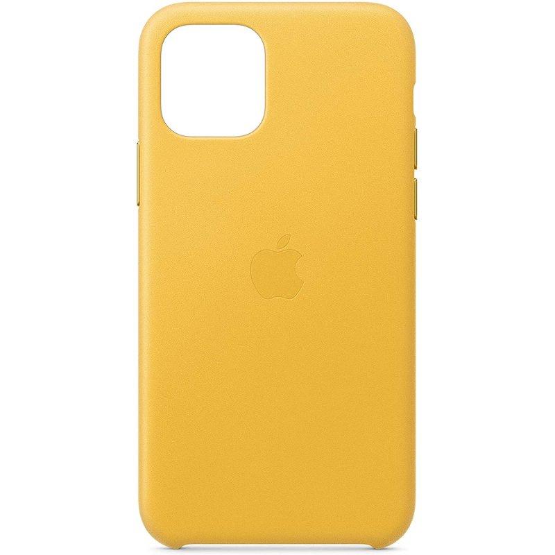 Apple Funda de Cuero Amarillo Sol para iPhone 11 Pro