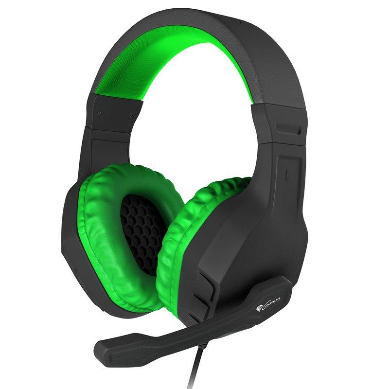 Genesis Argon 200 Auriculares Gaming Negro/Verde