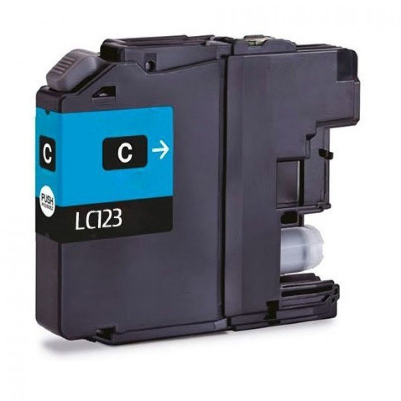 Inkpro Brother LC123XL Cartucho de Tinta Compatible Cian