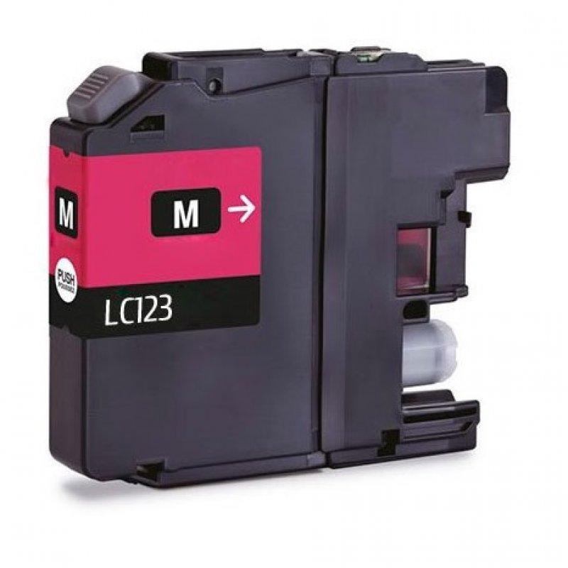Inkpro Brother LC123XL Cartucho de Tinta Compatible Magenta