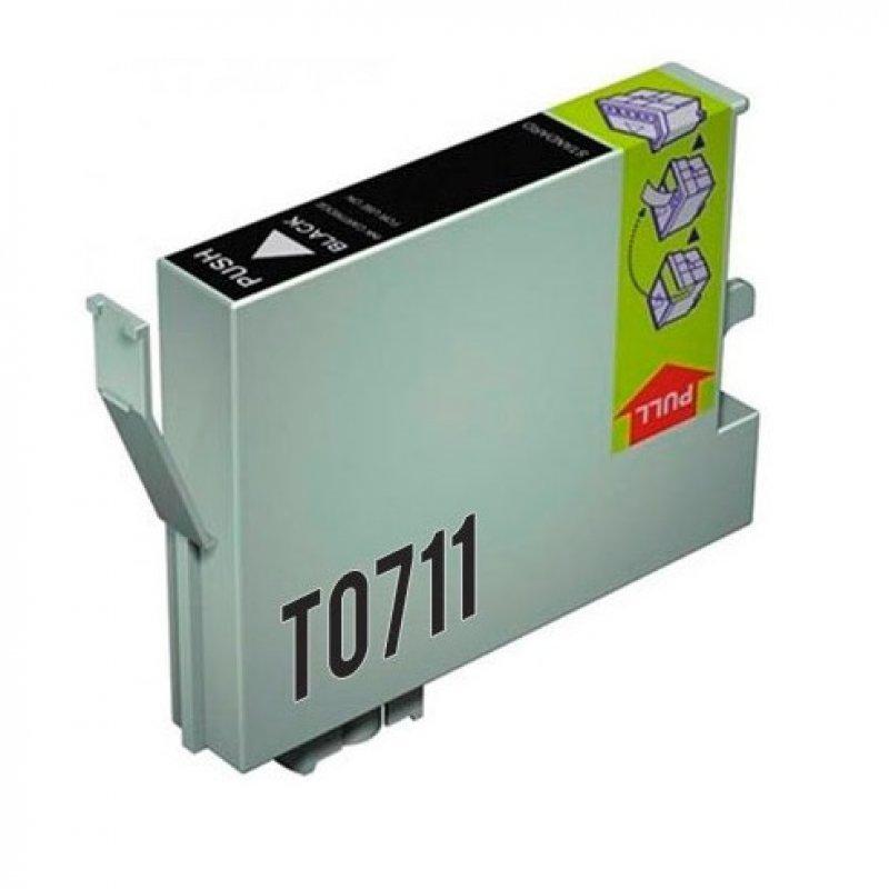 Inkpro Epson T0711 Cartucho de Tinta Compatible Negro