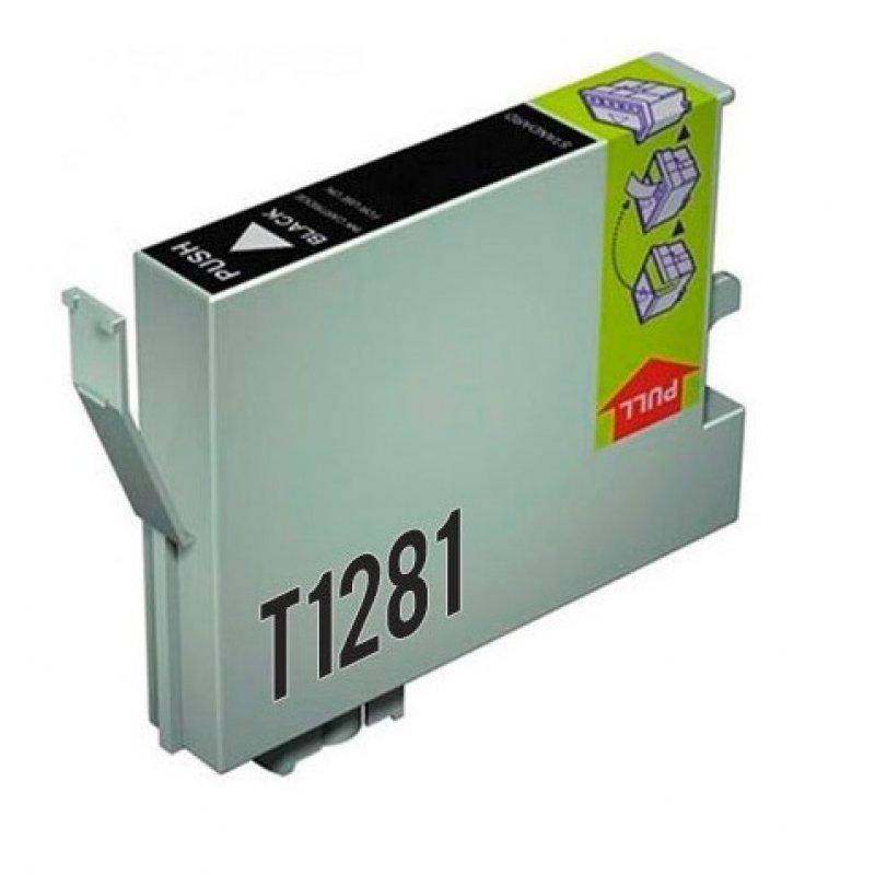 Inkpro Epson T1281 Cartucho de Tinta Compatible Negro