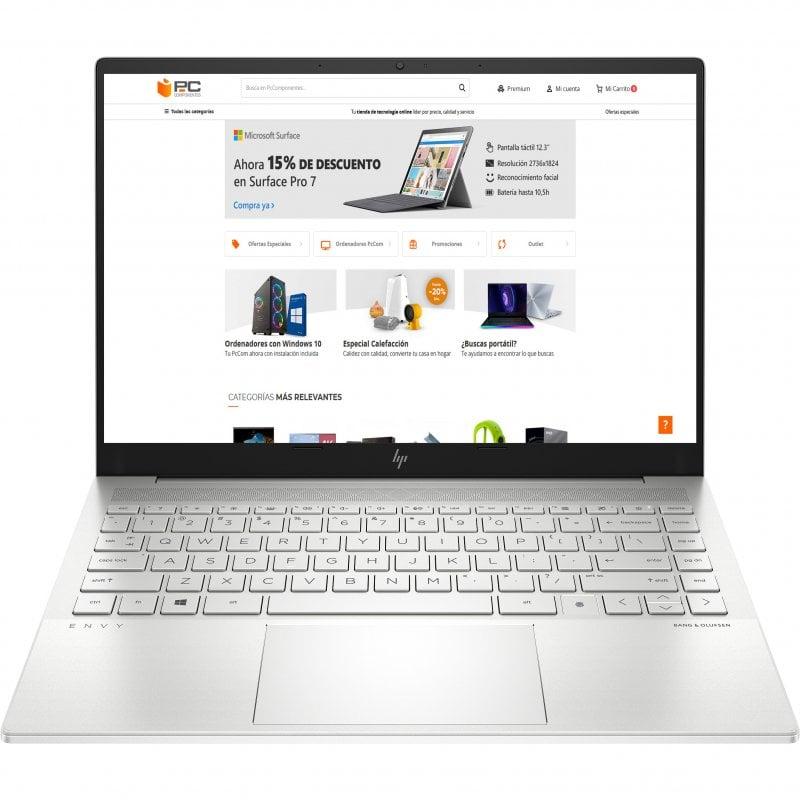 "Portátil HP Envy 14-eb0003ns Intel Core i7-1165G7/16GB/1TB SSD/GTX 1650 Ti/14"""