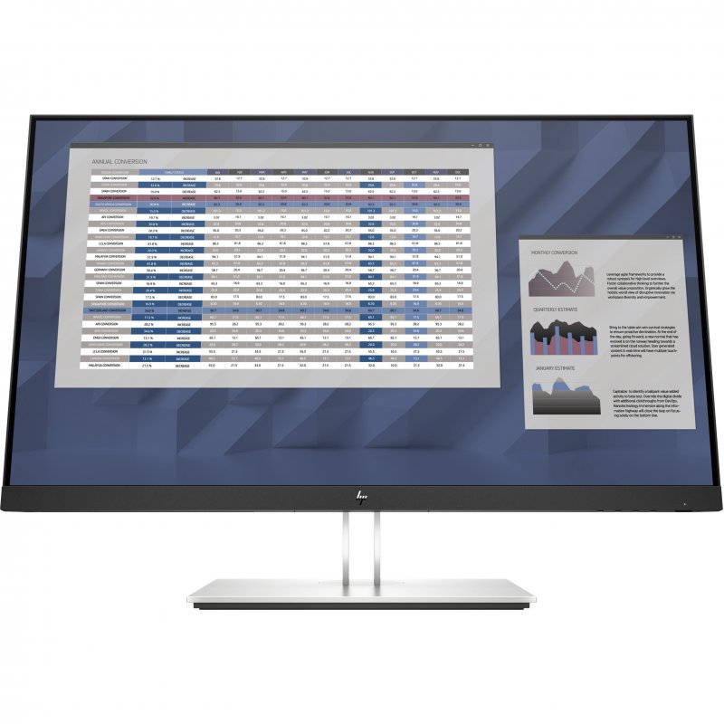 "Monitor HP E-Series E27 G4 27"" LED IPS FullHD"