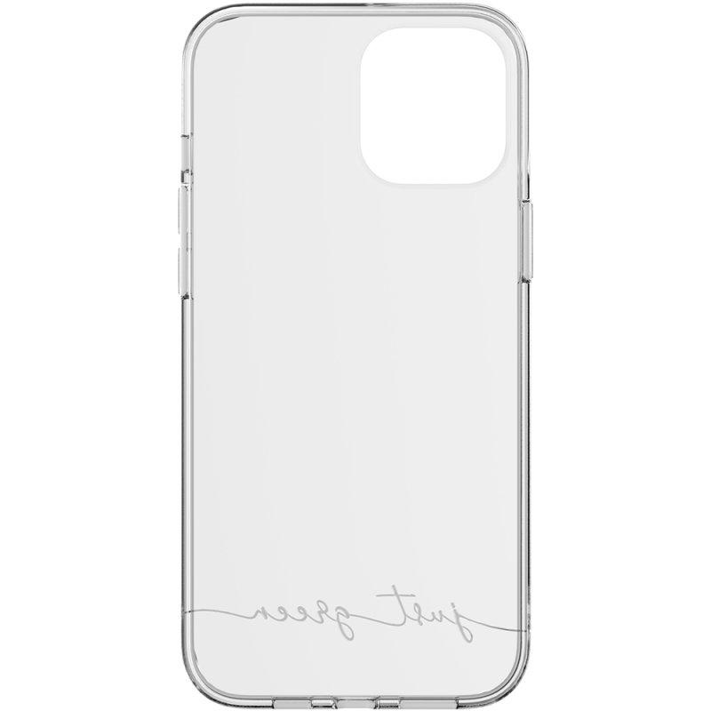 Just Green Carcasa Transparente Biodegradable para iPhone 12 Pro Max