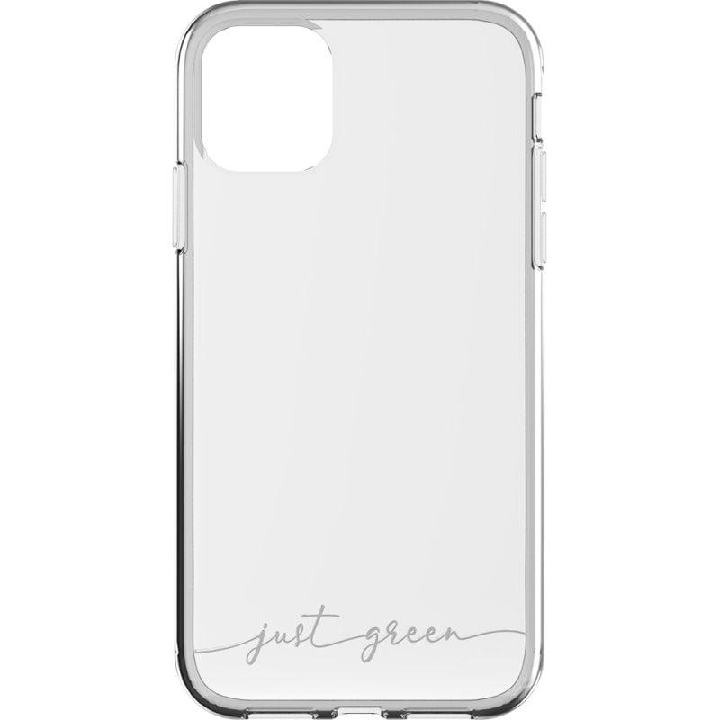 Just Green Carcasa Transparente Biodegradable para iPhone 11