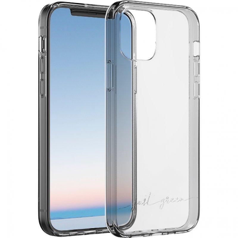 Just Green Carcasa Transparente Biodegradable para iPhone 12/12 Pro