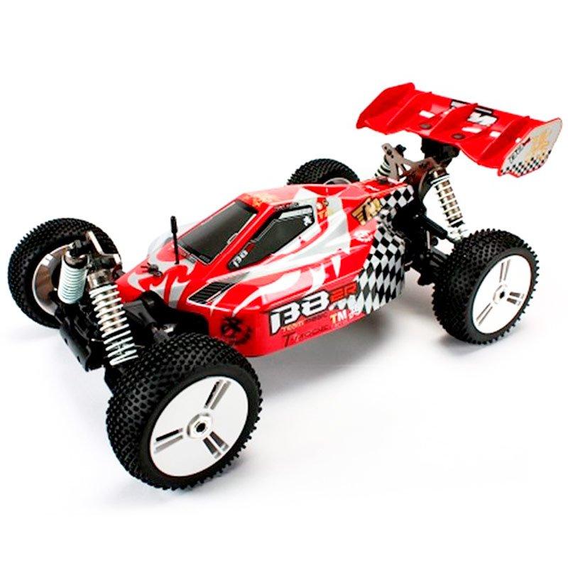 Team Magic B8ER Coche Eléctrico Buggy 1/8 Semi Competición 2500KV Rojo