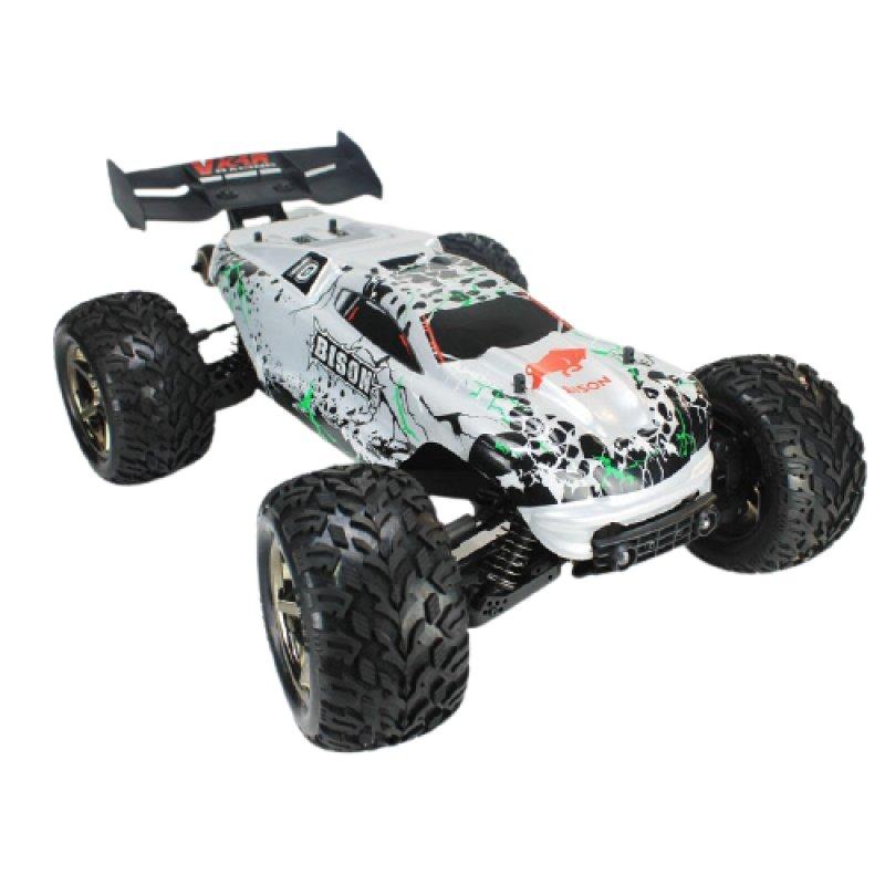 VKAR Racing Bison Coche Eléctrico Monster Truck 2020 4WD 1/8 2850KV Plata