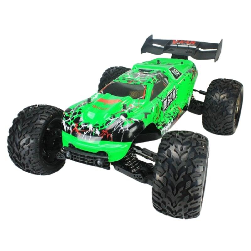 VKAR Racing Bison Coche Eléctrico Monster Truck 2020 4WD 1/8 2850KV Verde