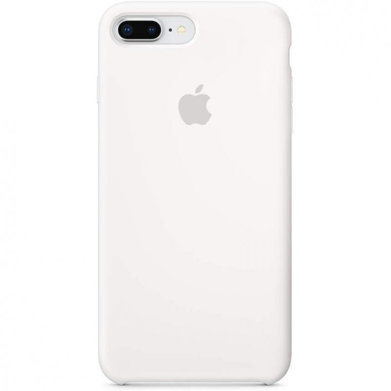 Apple Funda de Silicona Blanca para iPhone 7 Plus/8 Plus
