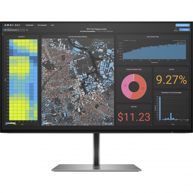 "Monitor HP Z24f G3 23.8"" LED IPS FullHD"
