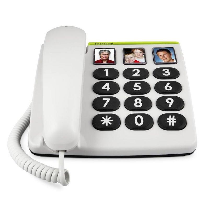 Doro PhoneEasy 331ph Teléfono Fijo Blanco