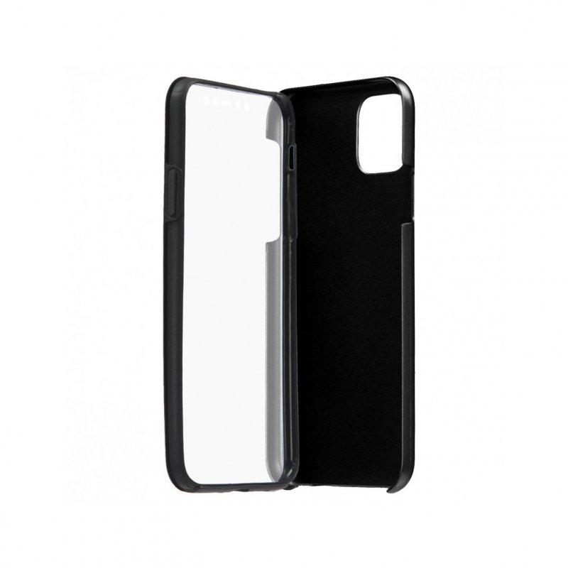 Funda Cromada con Tapa Negra para iPhone 11