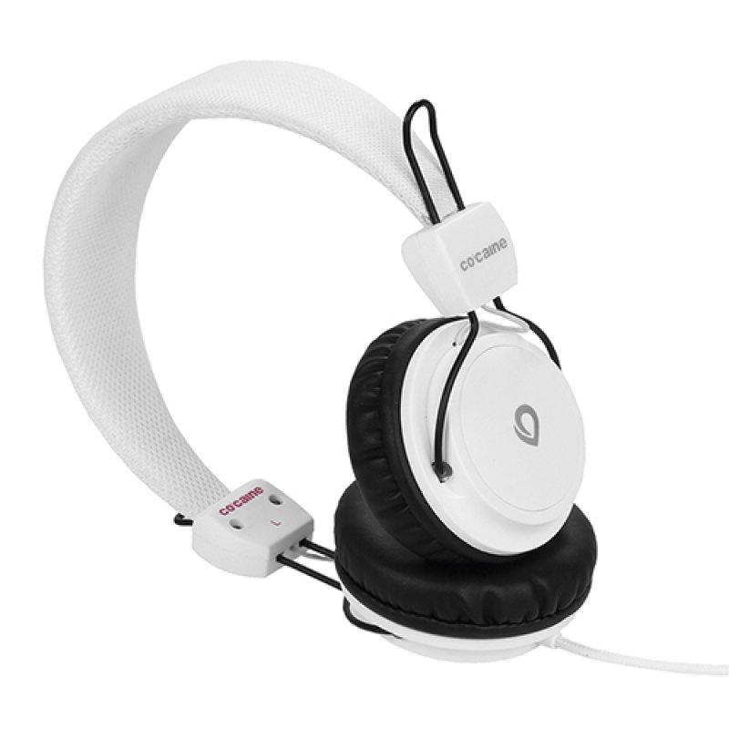 Co:caine City Beat Auriculares Blancos
