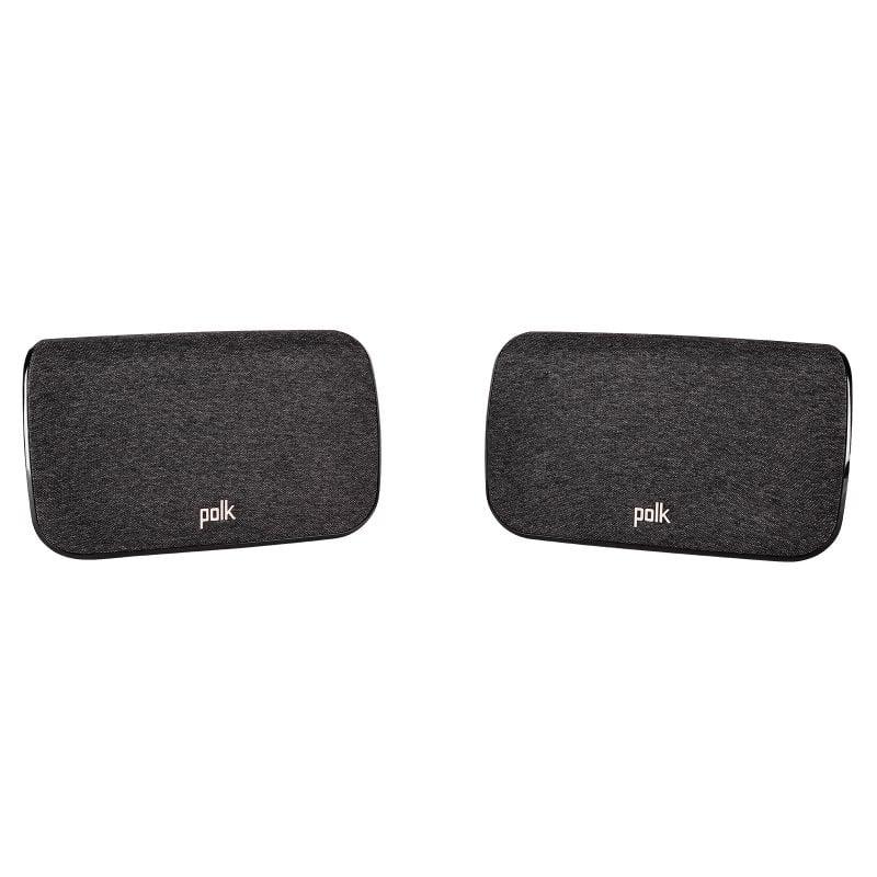Polk Audio SR2 Altavoces Envolventes Inalámbricos para Barra de Sonido Polk Series React/Magnifi 2