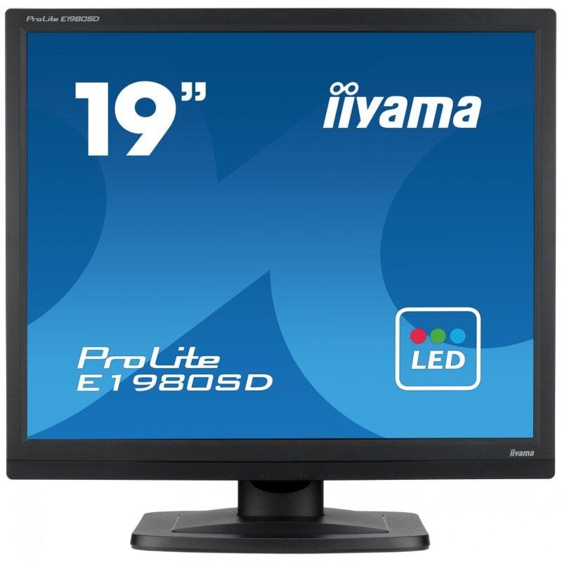 "Monitor iiyama ProLite E1980SD-B1 LED 19"" SXGA"