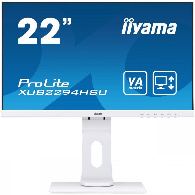 """Monitor iiyama ProLite XUB2294HSU-W1 21.5"""" LED FullHD Blanco"""