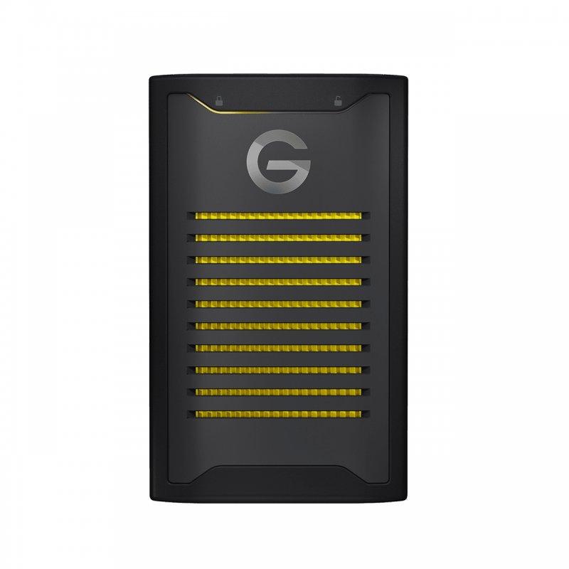 G-Technology SSD NVMe 2TB Con Cifrado ArmorLock USB-C Negro/Amarillo