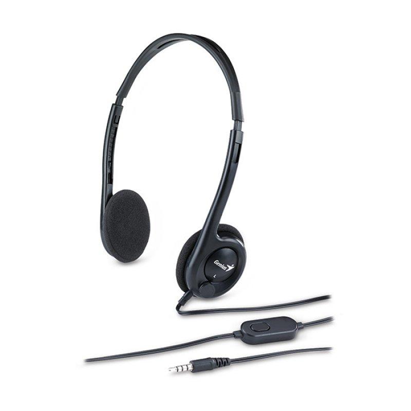 Genius HS-M200C Auriculares con Micrófono Negros ◇ 1150617