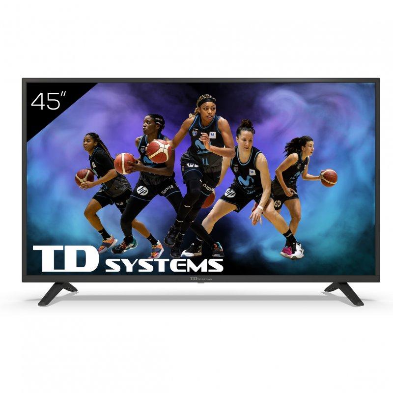 "Televisor TD Systems K45DLJ12US 45"" LED UltraHD 4K"