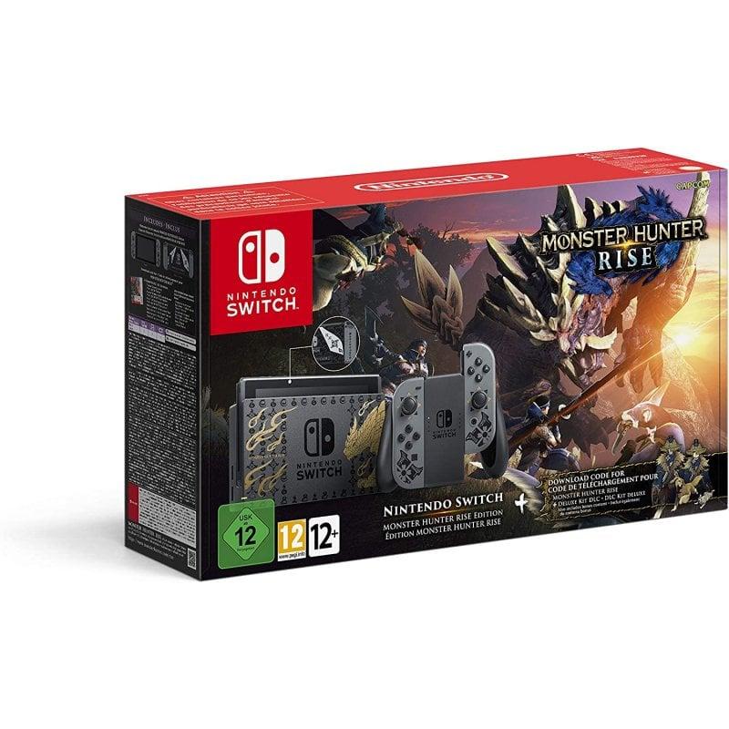 nintendo switch monster hunter rise edicion limitada
