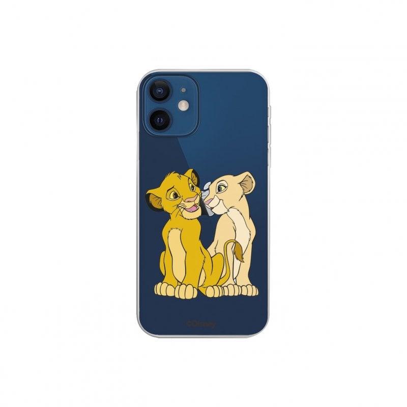 Funda Oficial de Disney El Rey León Simba y Nala Silueta para iPhone 12