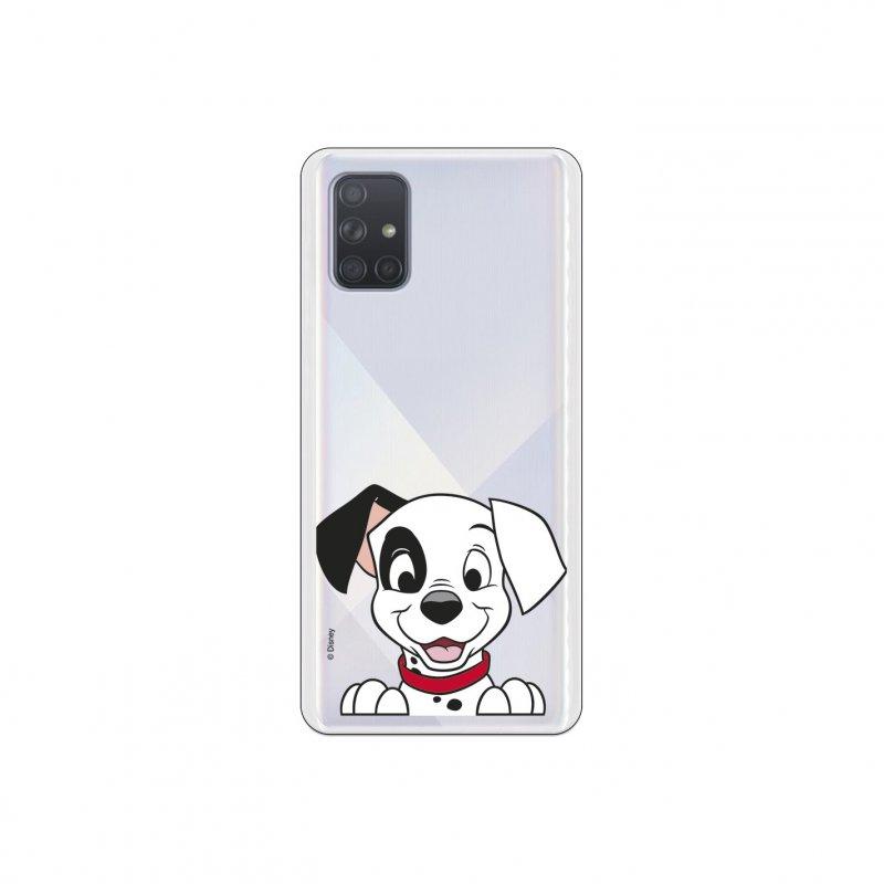 Funda Oficial de Disney 101 Dálmatas Cachorro Sonrisa para Samsung Galaxy A71
