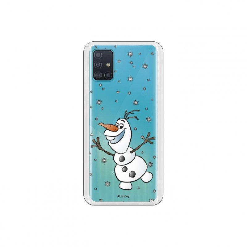 Funda Oficial De Disney Frozen Olaf Transparente Para Samsung Galaxy A51