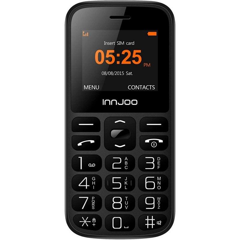 Innjoo Senior Teléfono para Mayores Negro Libre