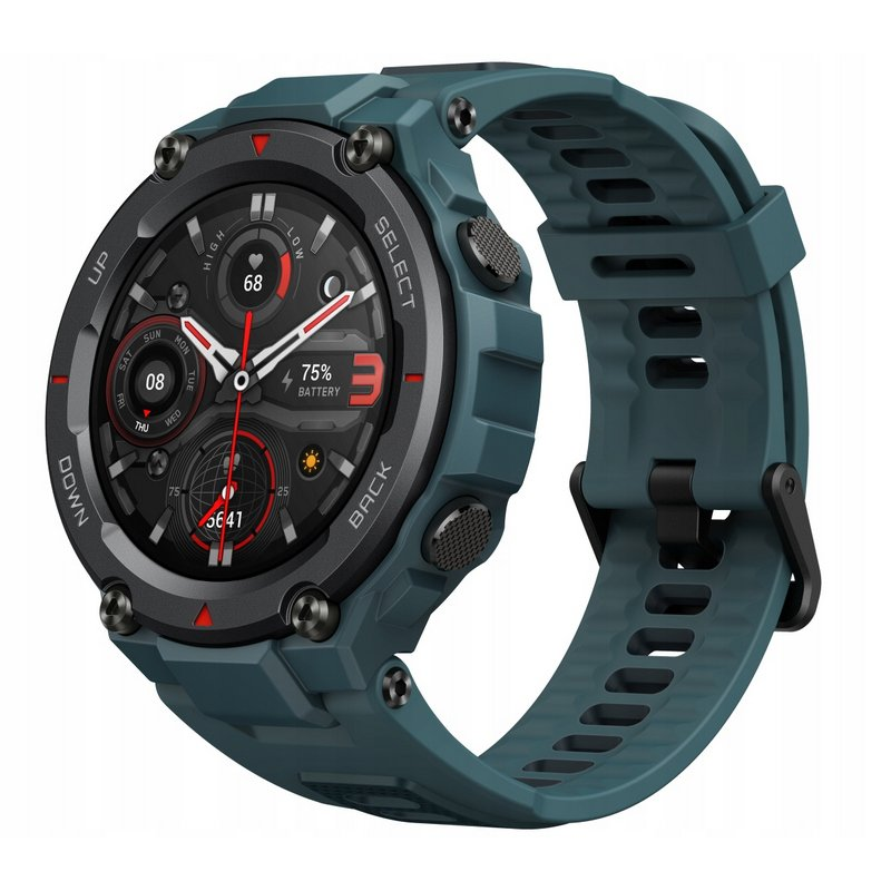 Amazfit T-Rex Pro Reloj Smartwatch Azul Acero