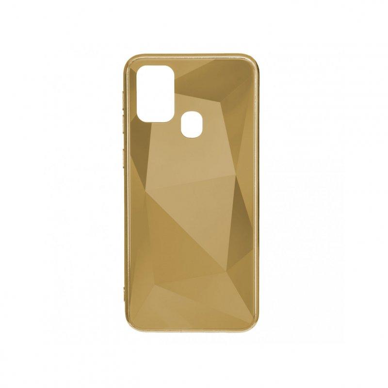 Funda Diamond Oro para Samsung Galaxy A21s