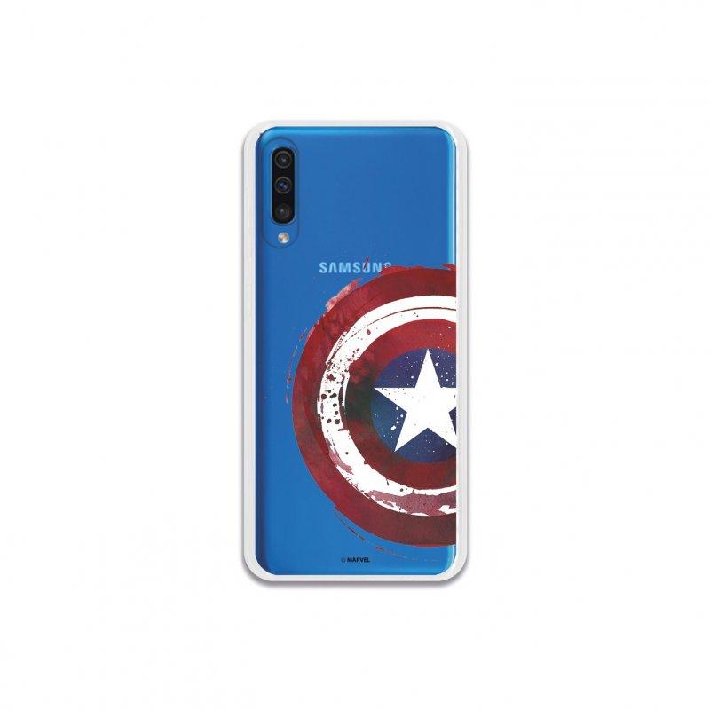 Funda Oficial Escudo Capitán América para Samsung Galaxy A50