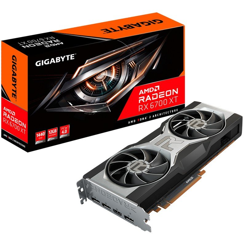 Gigabyte AMD Radeon RX 6700 XT 12GB GDDR6