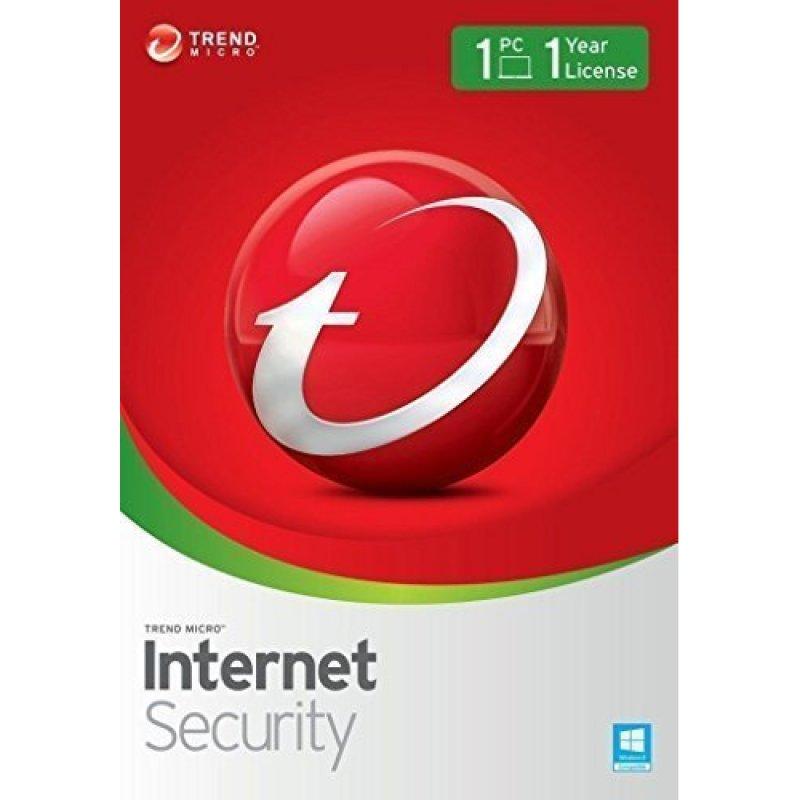 Trend Micro Internet Security 1 PC 1 Año Licencia Digital