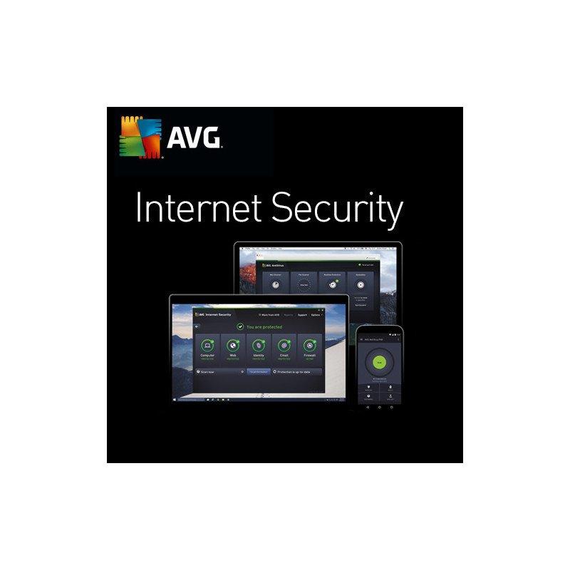 AVG Internet Security 3 PC 1 Año Licencia Digital